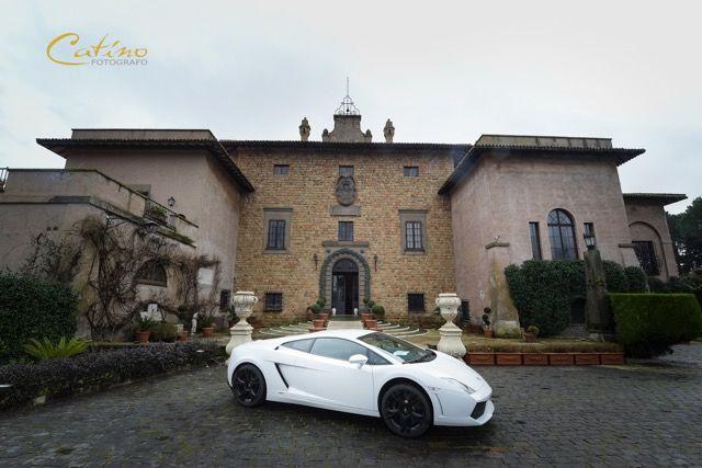 Lamborghini a Villa Giovanelli