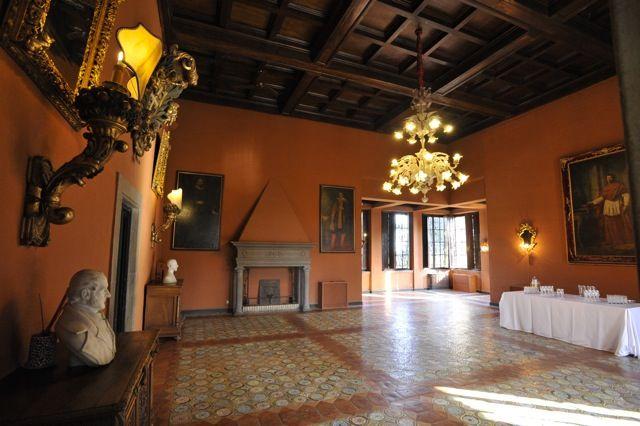i saloni della Villa
