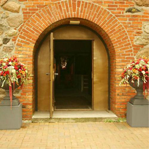 Beispiel: Eingangsdekoration, Foto: Monique Lebahn.