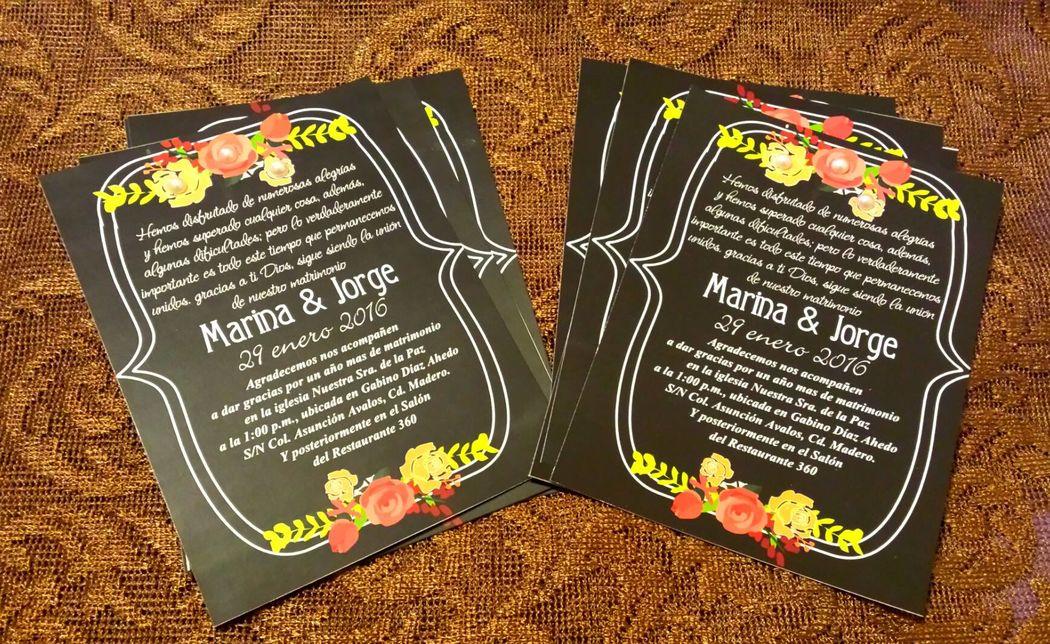 Diana Rivera Recuerdos e Invitaciones
