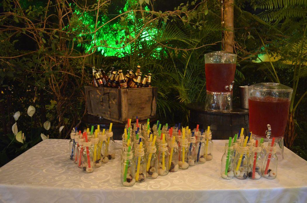 Bodas en Santa Fe - Coctel de bienvenida