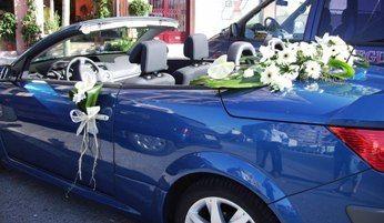 Flores para el coche