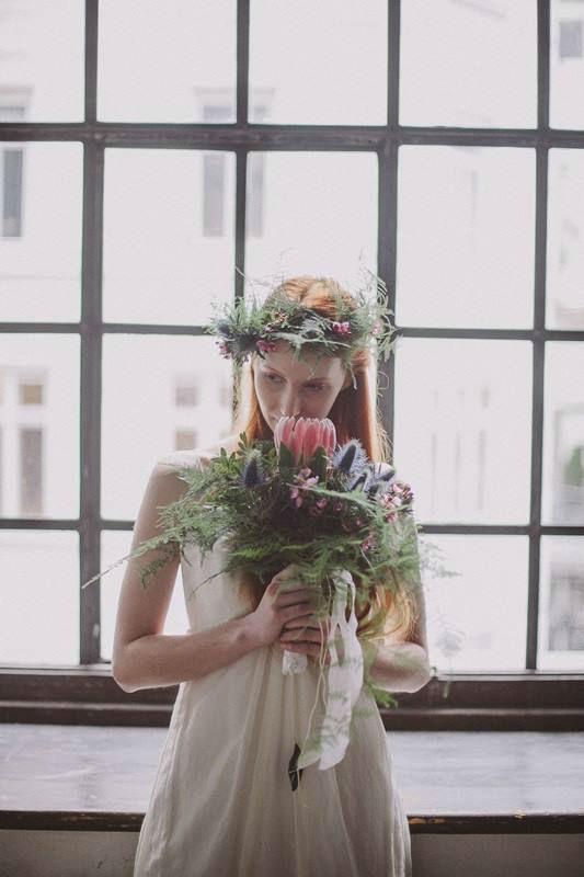 Beispiel: Hochzeitsfloristik, Foto: Blumen Stieber.