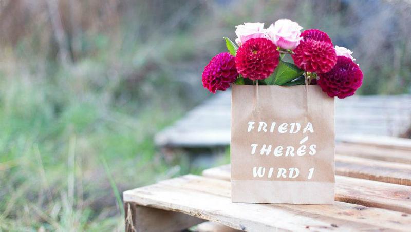 Beispiel: Verleihen Sie Ihrer Hochzeit viele Highlights! Foto: Frieda Therés.