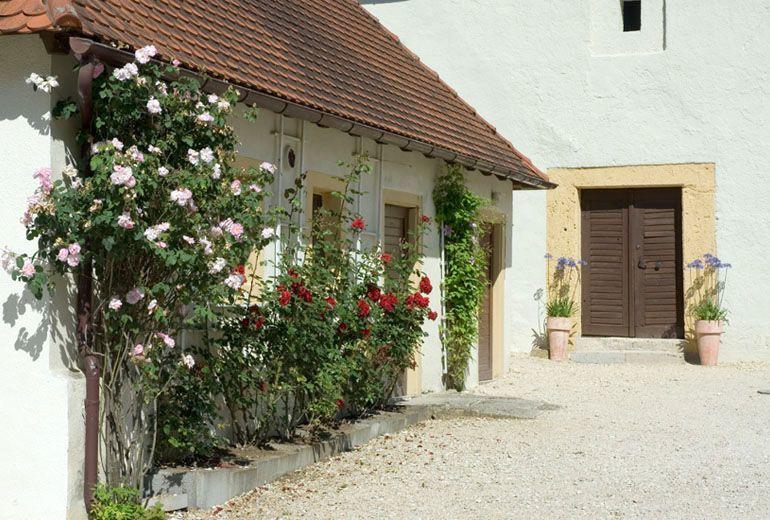 Beispiel: Schlosshof, Foto: Schloss Ehrenfels.
