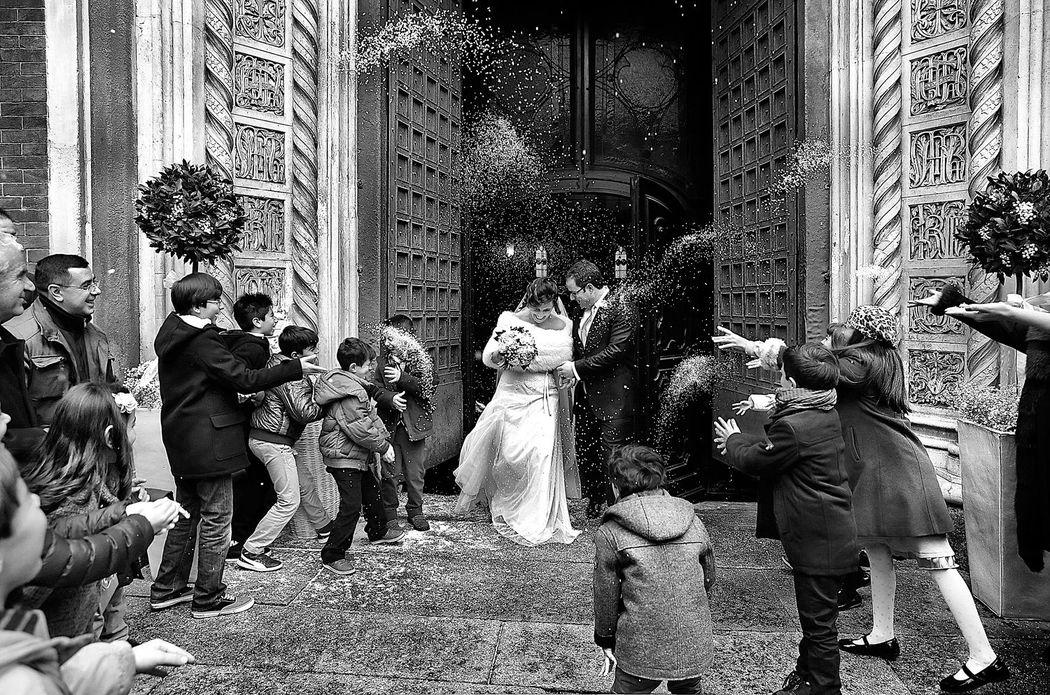 Milano. Matrimonio in Santa Maria del Carmine