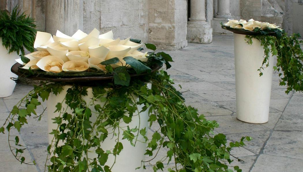 Ross Events - chiesa storica - allestimento classico rito religioso  Lecce 2012
