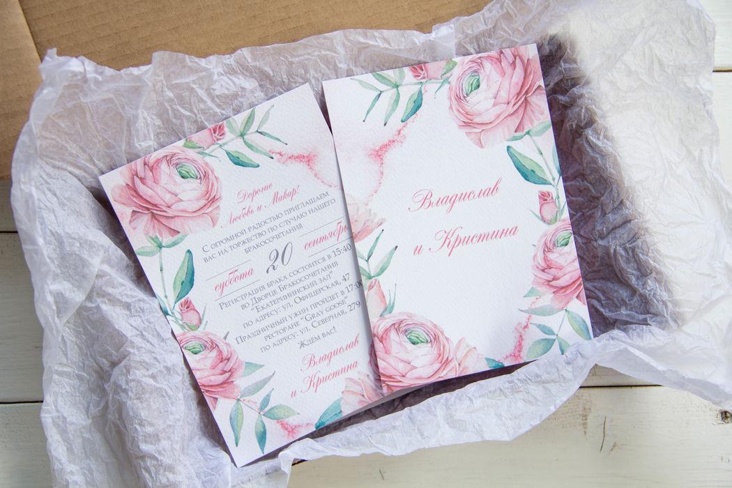 Свадебные приглашения Fairy.Tale.Invitation