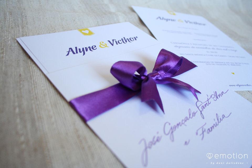 Convite tipográfico