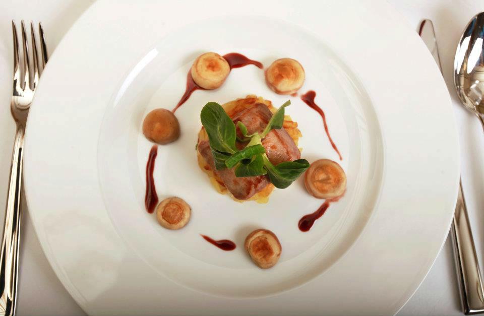 Beispiel: Leckere Gerichte, Foto: Schloss-Hotel Kittendorf.
