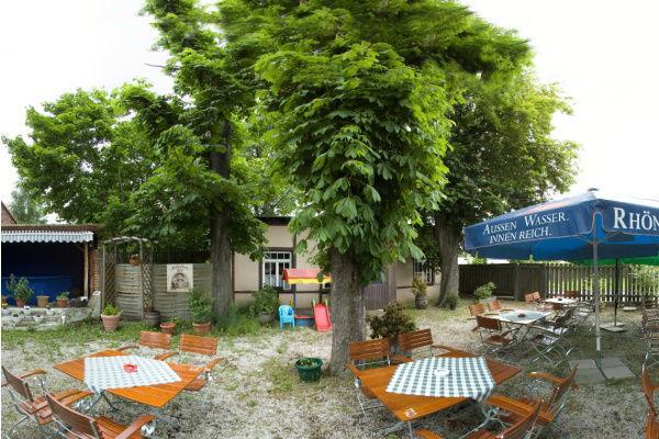 Beispiel: Biergarten, Foto: Historisches Restaurant Lutzgarten.