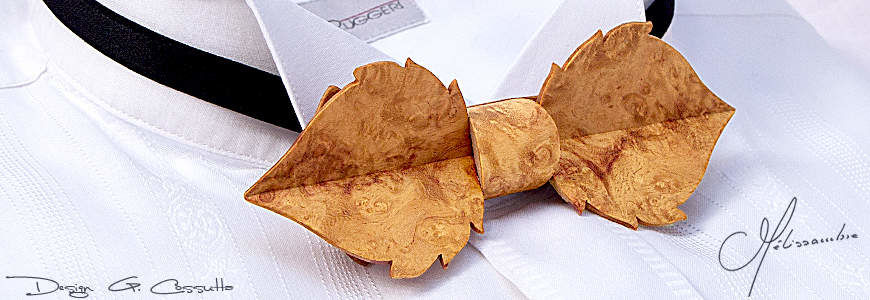 Mélissambre - Noeuds Papillon en Bois