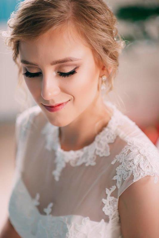 Portret z przygotowań pięknej Małgorzaty