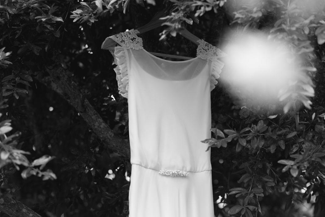 Vestido Pilar Bande Atelier. Fotografía: Bea Peixoto