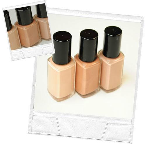 Beispiel: French-Manicure Set, Foto: Personal Makeup Artist.