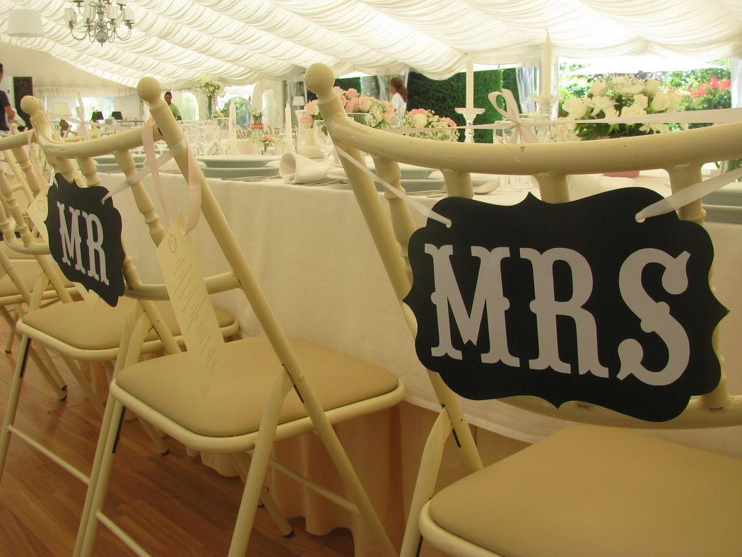 Cadeiras dos Noivos