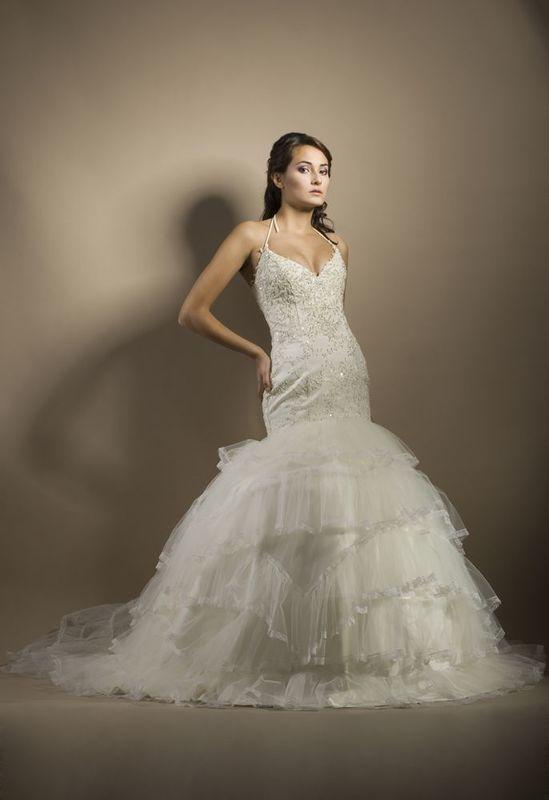 Robe de mariée couture CASCADE