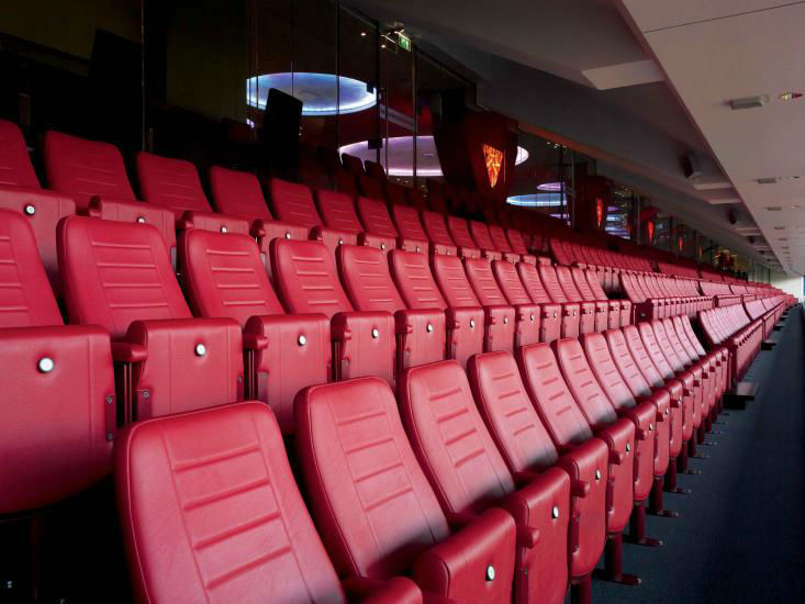 Luxe VIP stoelen Phillips stadion
