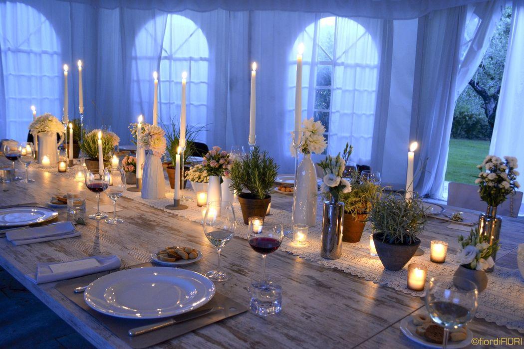 Tavolo imperiale rustico