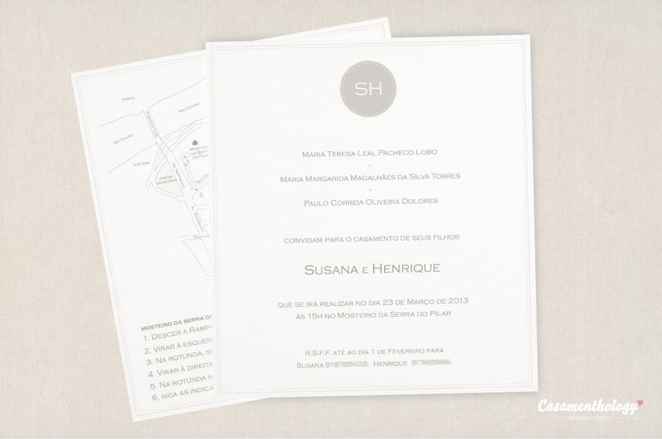 Convite e Mapa