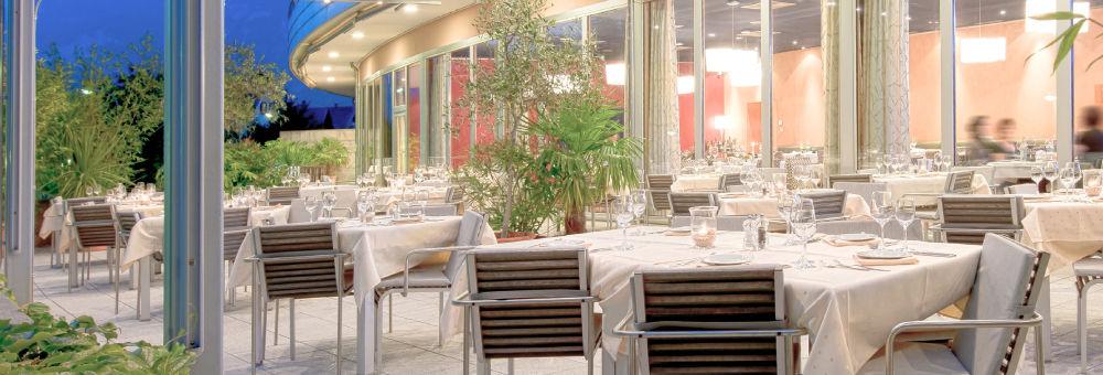 Beispiel: Terrasse, Foto: Restaurant VA BENE.