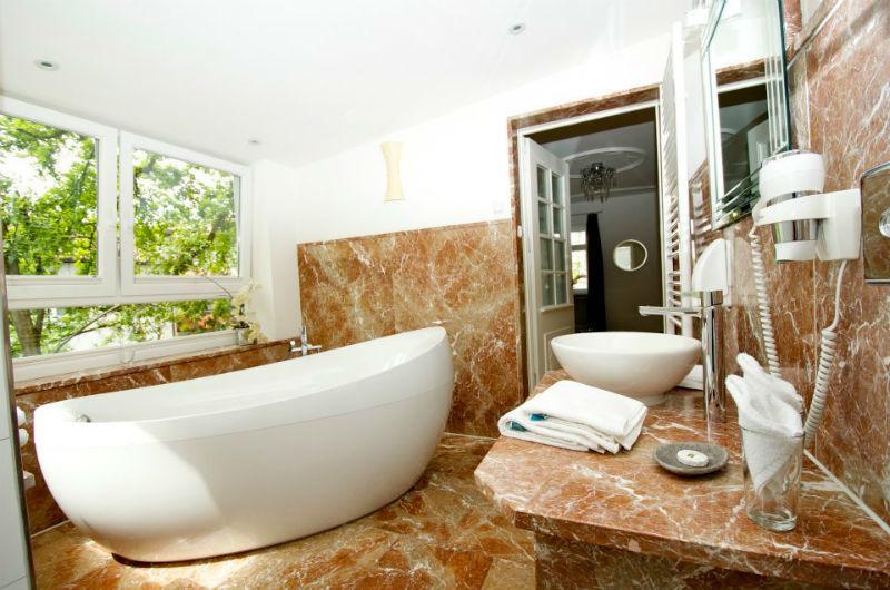 Beispiel: Badezimmer, Foto: Restaurant Meersalz.