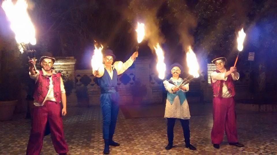 Recepción Malabares de fuego