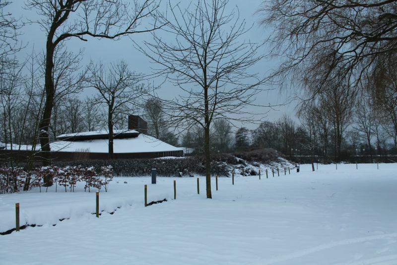 Winterse taferelen Huys ter Schelde