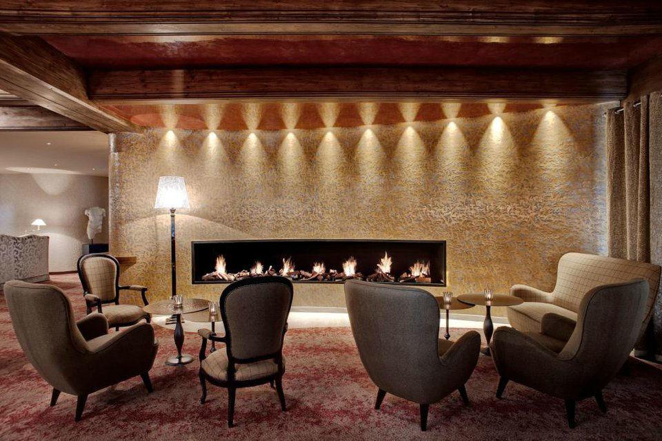 Beispiel: Lobby, Foto: Tschuggen Grand Hotel Arosa.