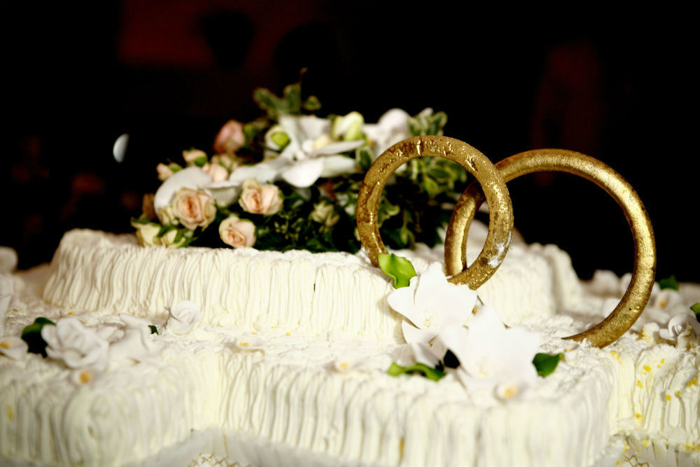 torta nuziale ristorante Bigarò