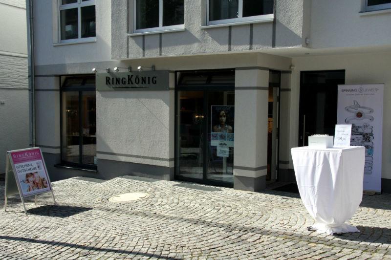 Beispiel: Außenansicht Ladengeschäft, Foto: RINGKÖNIG.