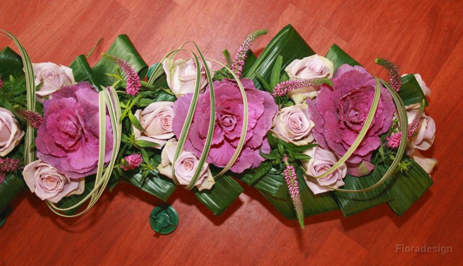 Beispiel: Tischgestecke, Foto: Floradesign.