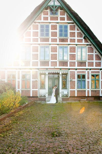 Beispiel: Hochzeitsfotos in Jork, Foto: Rea Papke Photography.