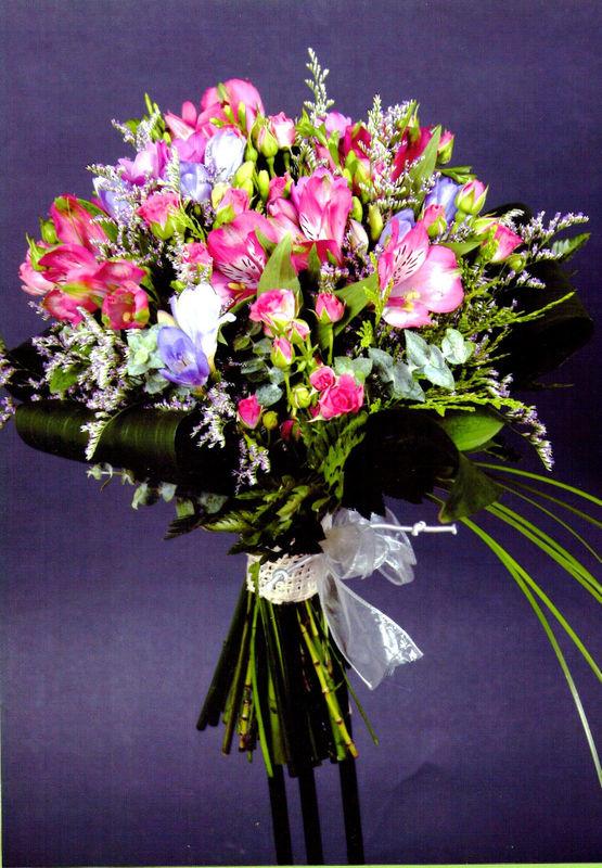 Bouquet alstromeria