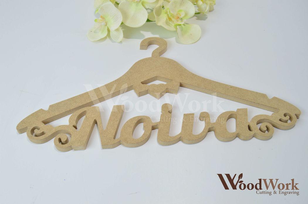 Woodwork - Corte e Gravação a Laser e CNC