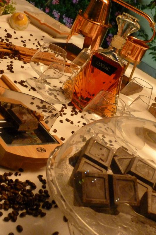 Angolo sigari, distillati e cioccolato
