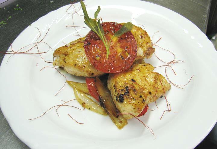 Beispiel: Speisen im Restaurant Schottenhof, Foto: Restaurant Schottenhof.
