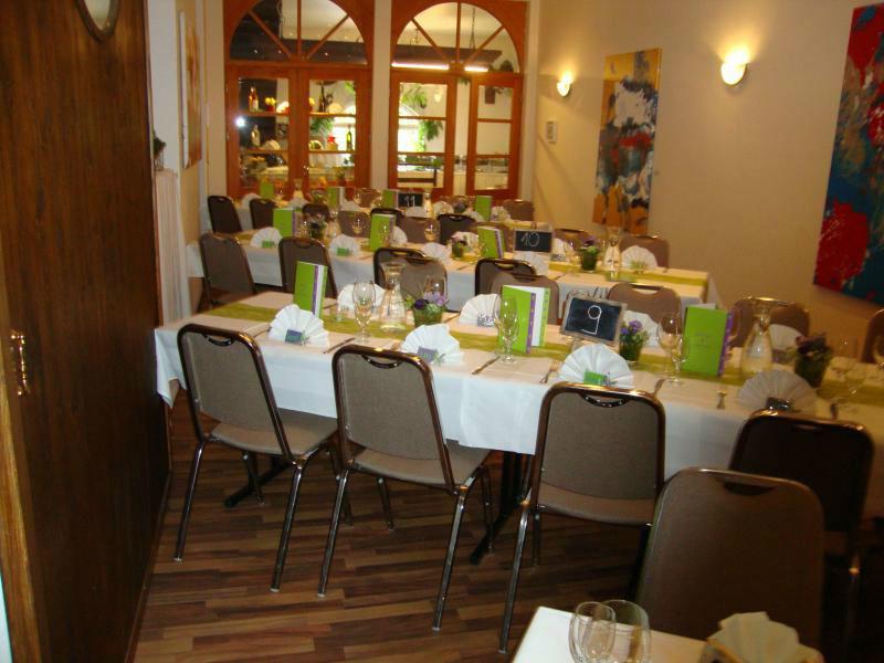 Beispiel: Restaurant - Bankett, Foto: Restaurant ´S´ Kastanie.