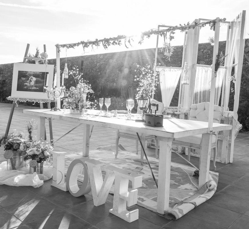 La mesa de novios adaptada al estilo de tu boda