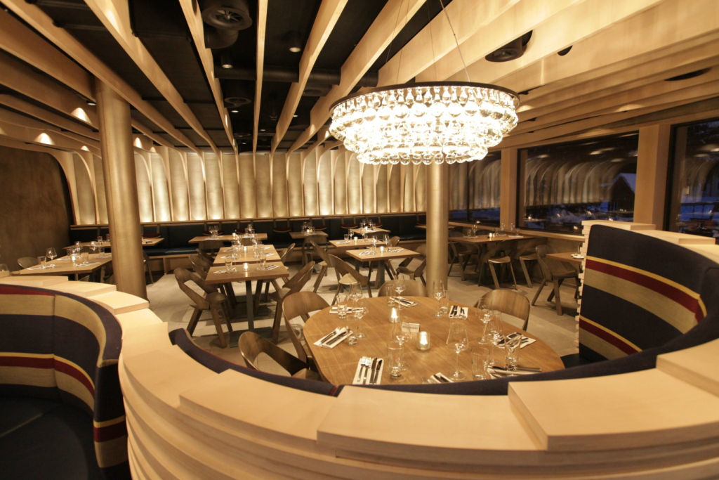 Beispiel: Nobel und elegant: Das Restaurant Uondas, Foto: Hotel Chesa Rosatsch.