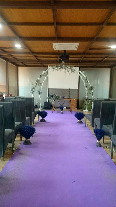 Ceremonia Morada en el Salón de Cristal