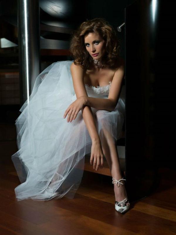 Beispiel: Frisur und Make-up für die Braut, Foto: Nina Tatavitto - My perfect look.