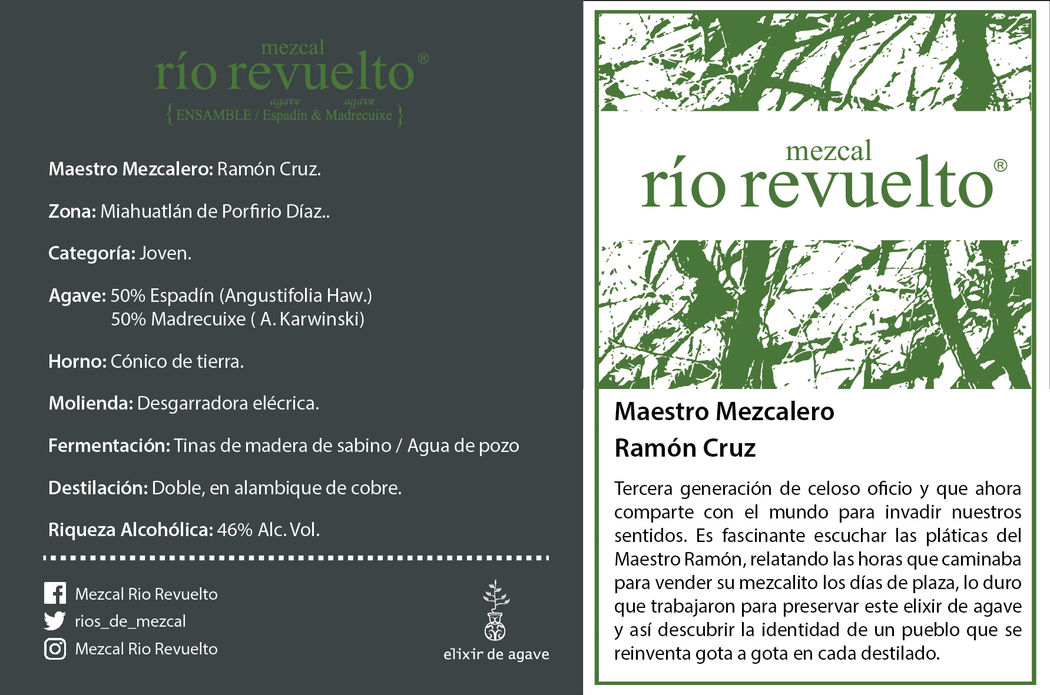 Mezcal Río Revuelto