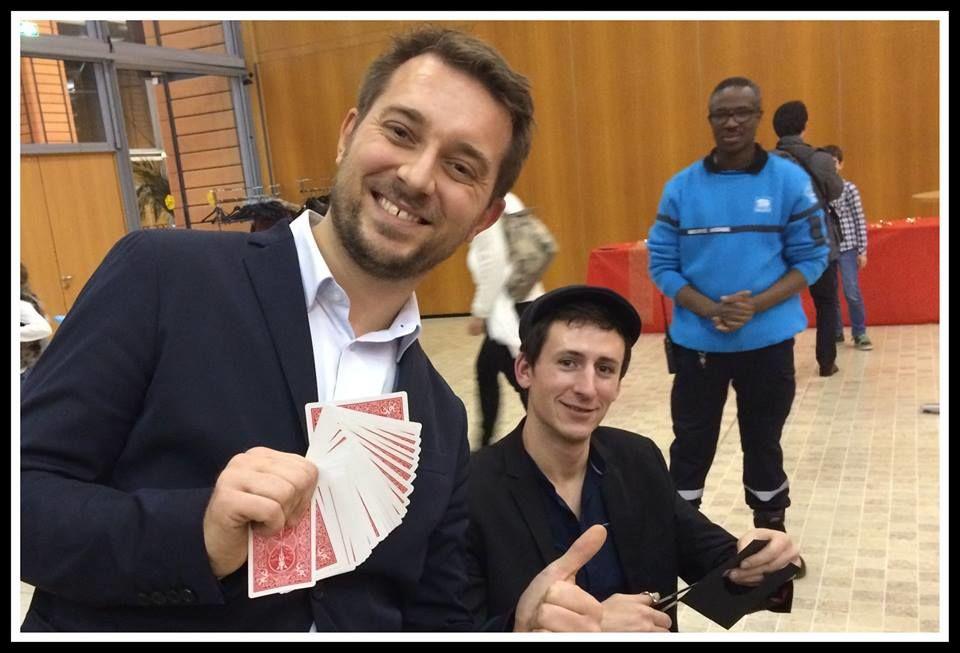 Hervé Troccaz magicien