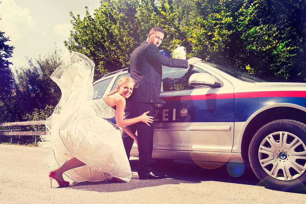 Beispiel: Originelle Fotos von Ihrer Hochzeit, Foto: JB_Pictures.