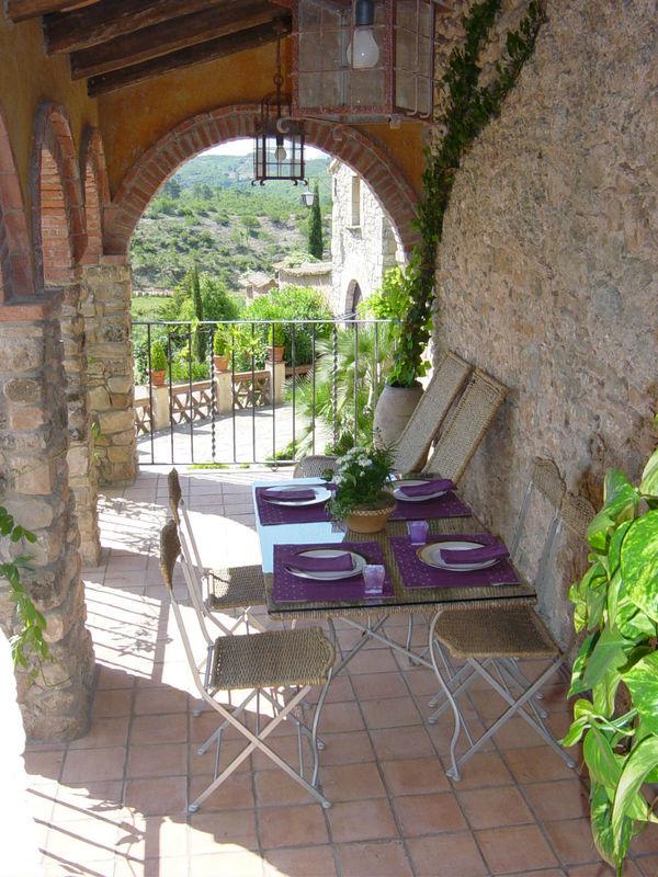 Terraza casa Romani