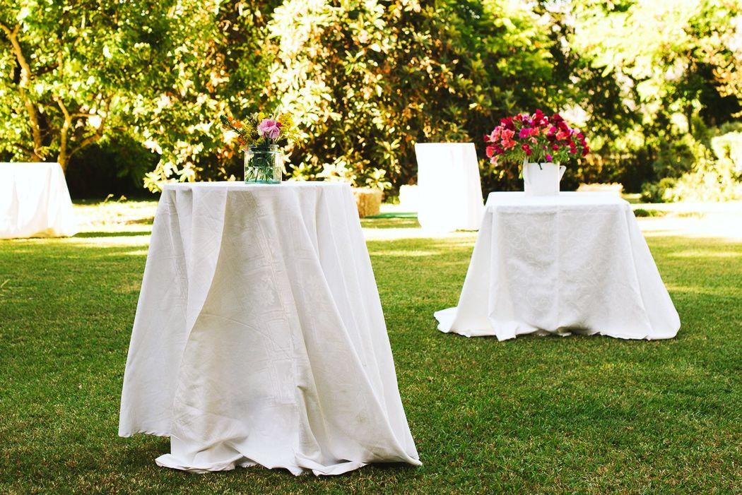 Hermosos jardines ideales para cocktail