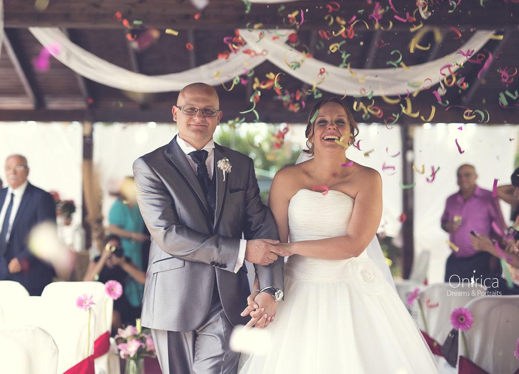 Reportajes de boda divertidos y espontáneos.