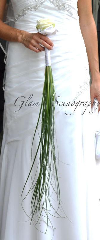 Bouquet monofiore.Glam Scenography