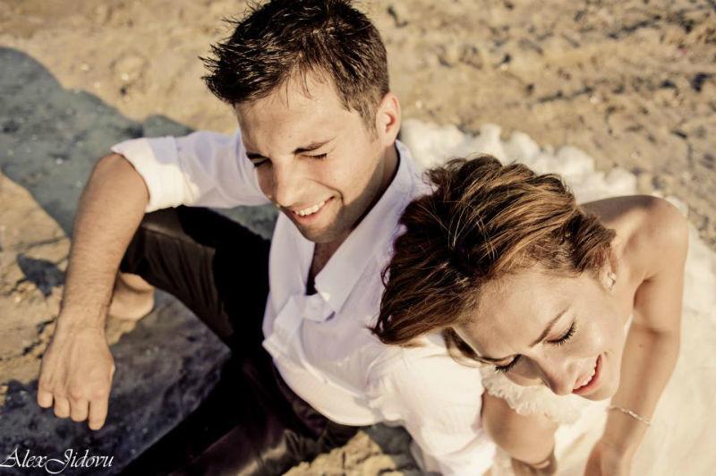 Beispiel: Romantische Hochzeitsfotos, Foto: Alex Jidovu.